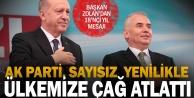 Başkan Osman Zolandan AK Parti kuruluş yıldönümü mesajı
