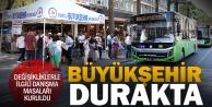 Büyükşehir, otobüslerdeki değişikliklerle ilgili vatandaşları bilgilendiriyor