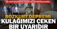 CHP'li Özel: Bozkurt depremi, İstanbul depremi için kulağımızı çeken uyarıdır