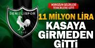 Denizlispor#039;da temliklere 11 milyon TL gitti