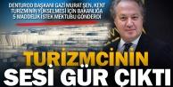 DENTUROD Başkanı Şenden Bakanlığa; Pamukkale ve turizm mektubu
