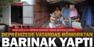 Evlerine giremeyen depremzede Bozkurtlular çadır ve barınaklarda yaşamını sürdürüyor