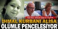 Kolunu havuzun su tahliye pompasına kaptıran Rus Alisanın anne ve babası konuştu