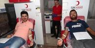 Merkezefendi personelinden kan bağışına destek