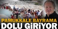 Pamukkale#039;de bayram bereketi
