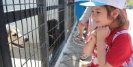 Pamukkaleli çocuklar Denizli'yi geziyor