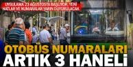 Yeni otobüs hatları 23 Ağustos#039;ta hizmete giriyor