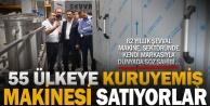 55 ülkeye makine satan işletmeye Erdoğandan ziyaret