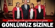 Büyükşehir sporcuları Balkan Şampiyonasına uğurlandı