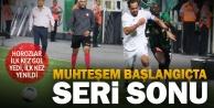 Denizlispor#039;da seri sona erdi