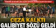 Denizlispor#039;da takıma af çıktı