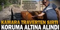 'Kamara Traverten Sırtı' koruma altına alındı