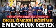 Veli ve Mustafa Üğür kardeşlerden eğitime 2 milyonluk destek