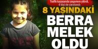 8 yaşındaki Berra kazada hayatını kaybetti