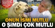Ağaca bağlanıp işkence edilen köpeğe #039;Başkan#039; koruması