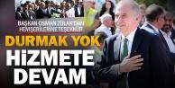Başkan Osman Zolandan hemşerilerine altyapı teşekkürü