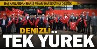 Başkanlardan Barış Pınarı Harekatına destek