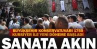 Büyükşehir Konservatuarı#039;nda yeni dönem, rekorla başladı