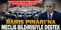 Büyükşehir Meclisinden Barış Pınarı Harekatına destek bildirisi