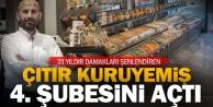 Çıtır Kuruyemiş 4ncü şubesini Doğan Demircioğlu Caddesinde açtı