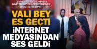 Cumhuriyet resepsiyonuna davet edilmeyen medya temsilcileri Vali Karahana tepkili
