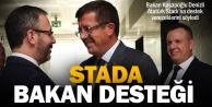 Denizli Atatürk Stadına bakanlık desteği