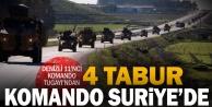 Denizliden 4 tabur komando Barış Pınarı Harekatında