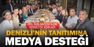 DTO, tanıtım için Rus gazetecileri Denizli ile buluşturdu