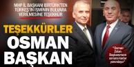 MHP Denizli İl Başkanı Cafer Birtürk: Osman Zolan Başkanımıza çok teşekkür ediyoruz