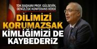TDK Başkanı Prof. Dr. Gürer Gülsevin PAÜye konuk oldu