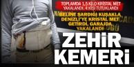 Beline sardığı uyuşturucuları kente getiren şüpheli tutuklandı