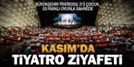 Büyükşehir Tiyatrosu#039;ndan Kasım#039;da 10 farklı oyun
