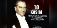 Büyükşehirden Büyük Önder Atatürk#039;ü Anma Programı