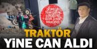 Çivril'deki traktör kazasında eski muhtar öldü, 3 kişi yaralandı