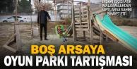 """Denizli'de """"oyun parkı"""" tartışması"""
