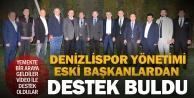 Denizlispor yönetiminden eski başkanlara 'Birlik ve Beraberlik yemeği
