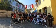 Erasmus öğrencileri Rektör Prof. Dr. Bağ ile Buldan#039;ı gezdi