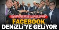 Facebookun Anadoludaki ilk istasyonu için imzalar atıldı