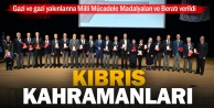Kıbrıs gazilerine KKTCden madalya ve berat