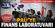 Pamukkale Üniversitesinde İş Yatırım tarafından finans laboratuvarı açıldı