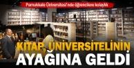Pamukkale Üniversitesinde kitap satış noktası açıldı