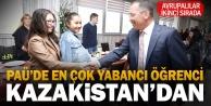 Pamukkaledeki yabancı öğrencilerin çoğunluğu Kazakistandan