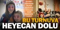 Basketbol heyecanı başladı, DEGİAD Başkanı Urhandan dostluk mesajı