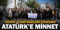 Büyükşehir Kadın Meclisi#039;nden Ata#039;ya minnet
