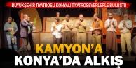 Büyükşehir Tiyatrosu Konya#039;da Kamyon#039;u sahneledi