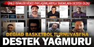 DEGİAD Basketbol Turnuvasına destek yağmuru
