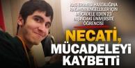 Engelsiz yaşam için mücadele veren Necatinin üzen ölümü