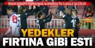Süper Ligde forma bulamayan oyuncular kupa maçında döktürdü