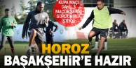 Yukatel Denizlispor, Medipol Başakşehir maçı hazırlıklarını sürdürdü