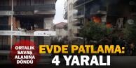 Zeytinköyde patlama: 4 yaralı
